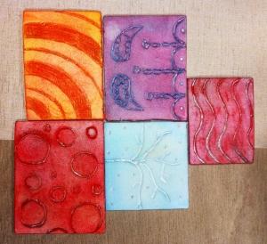 foam printing blocks