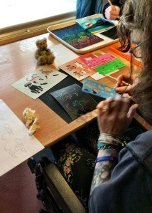 showing how the arts can help support the well being of homeless people