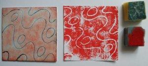 foam plate and print