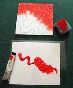 paint foam block sponge